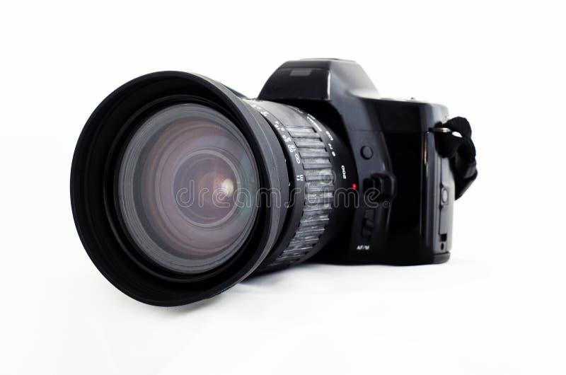 照相机老slr 免版税库存照片