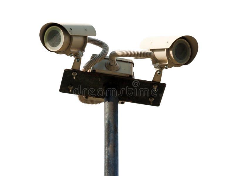 照相机证券 免版税库存照片