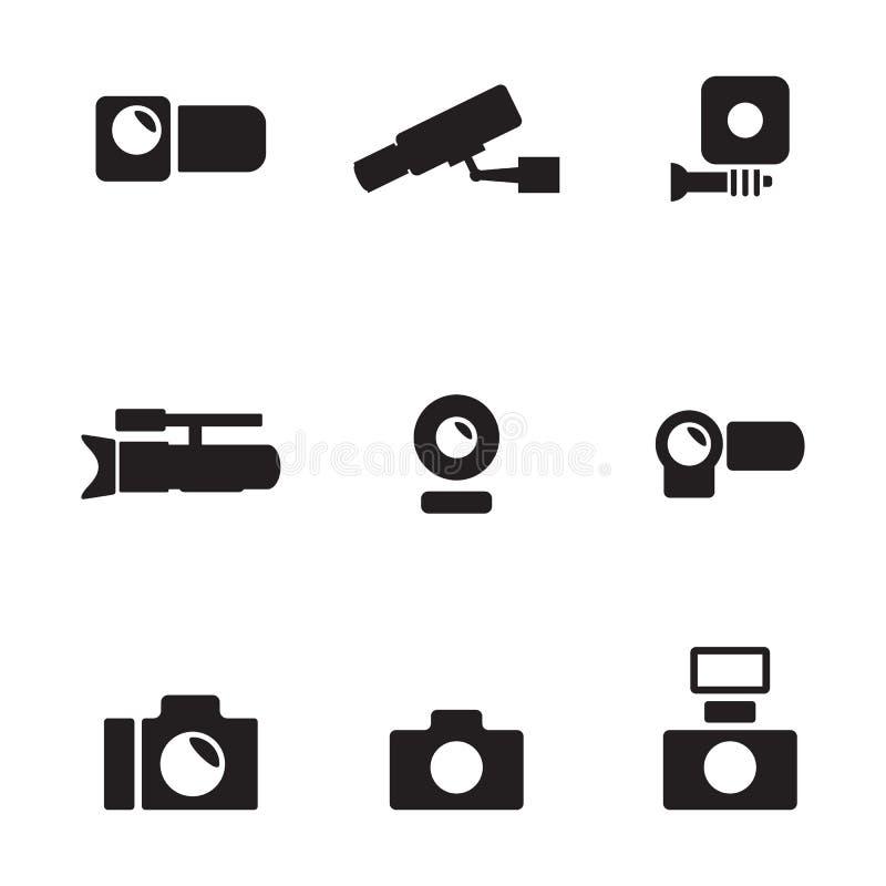 照相机象 向量例证