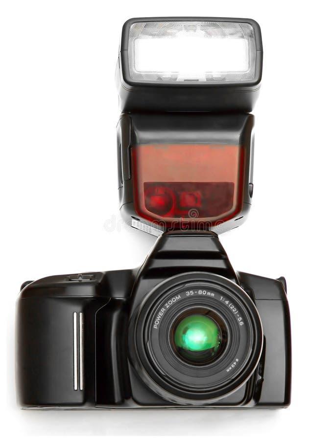 照相机闪光 免版税库存照片