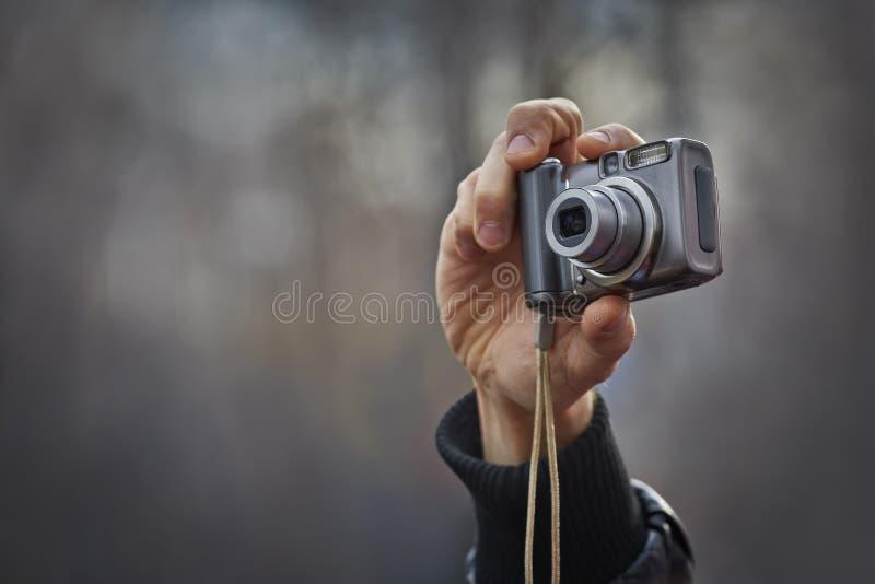 照相机紧凑现有量 免版税库存图片