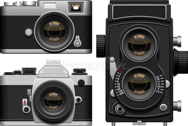 照相机 库存例证
