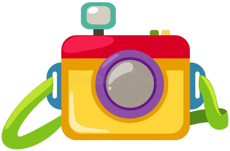 照相机 向量例证
