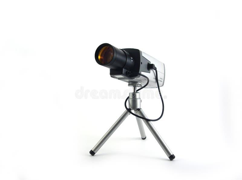 照相机ccd安全 库存照片