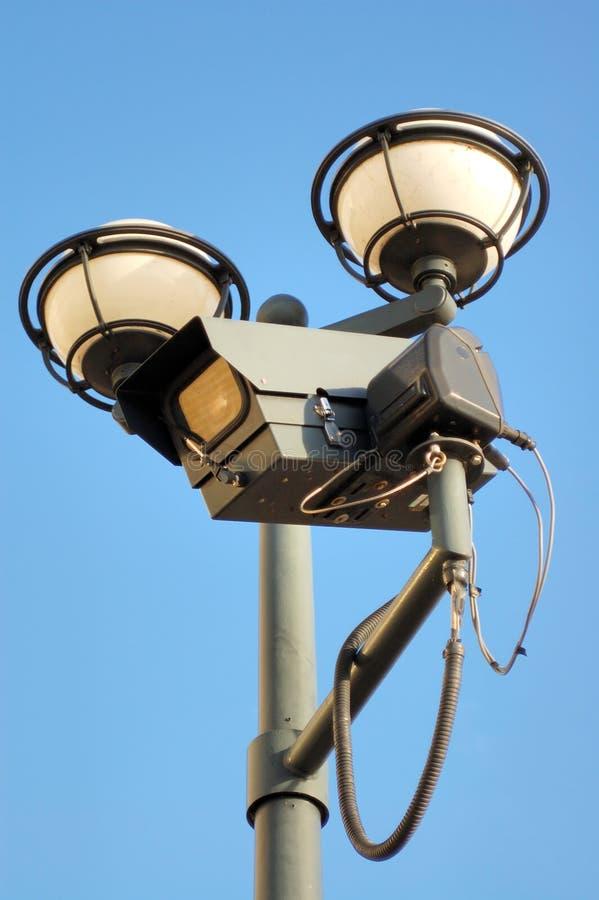 照相机cctv 免版税库存图片