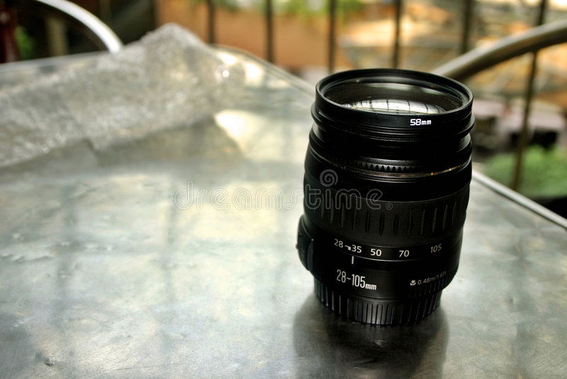 照相机lense 免版税图库摄影