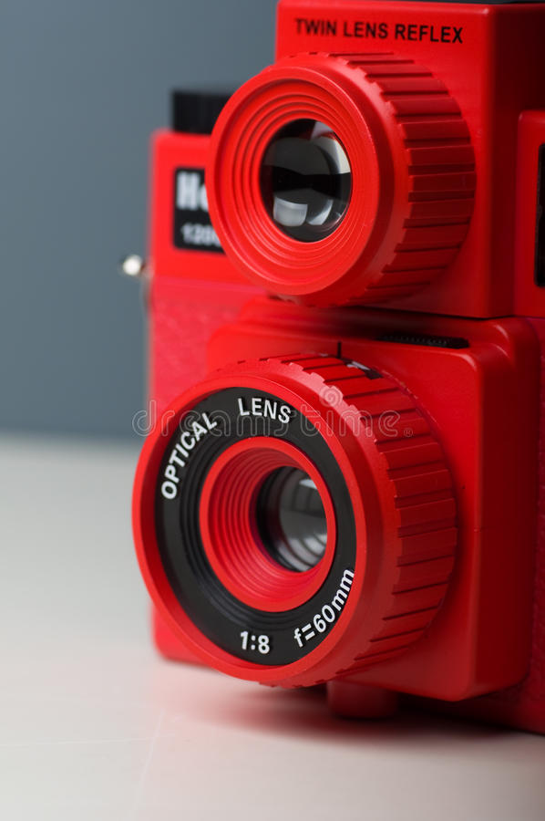 照相机lomo 库存图片