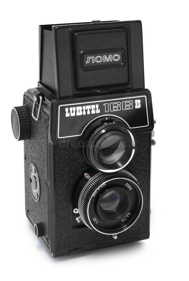 照相机lomo lubitel 免版税库存图片
