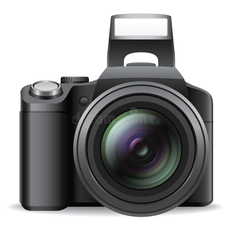 照相机slr 向量例证
