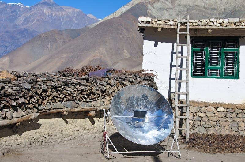 煮沸的水壶反射器太阳使用 免版税库存图片