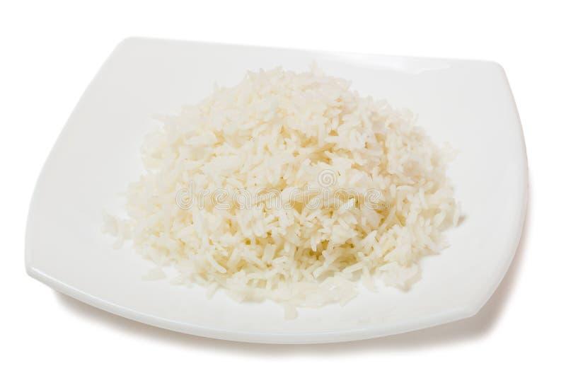 煮沸的米 免版税库存照片