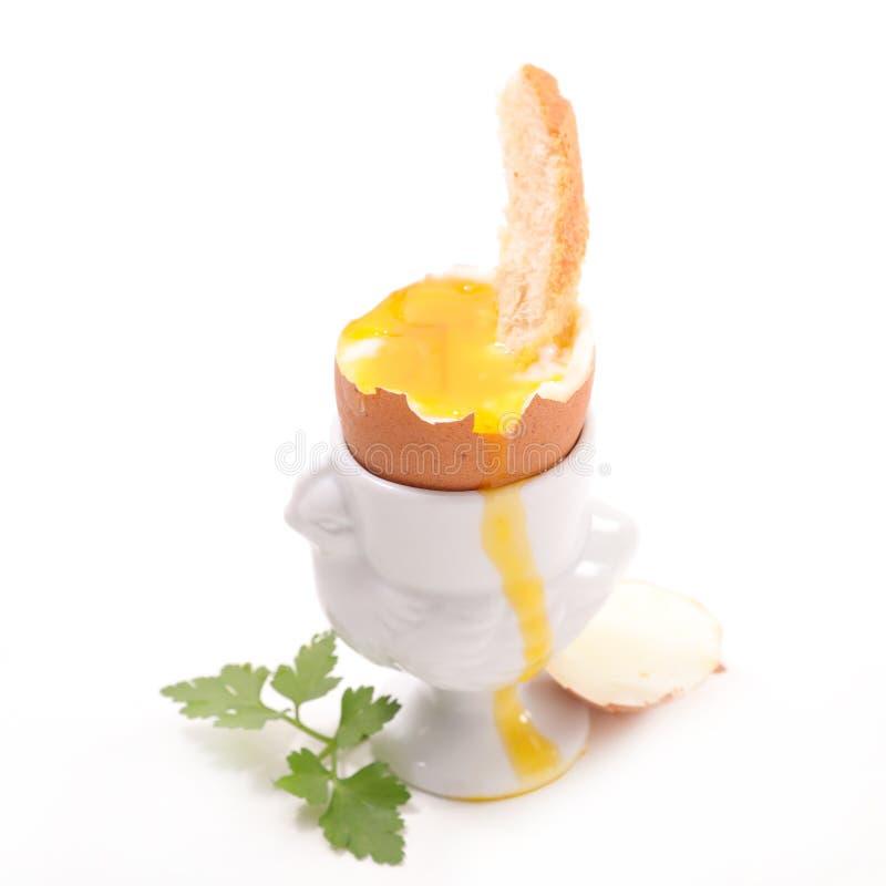 煮沸的蛋软件 免版税图库摄影