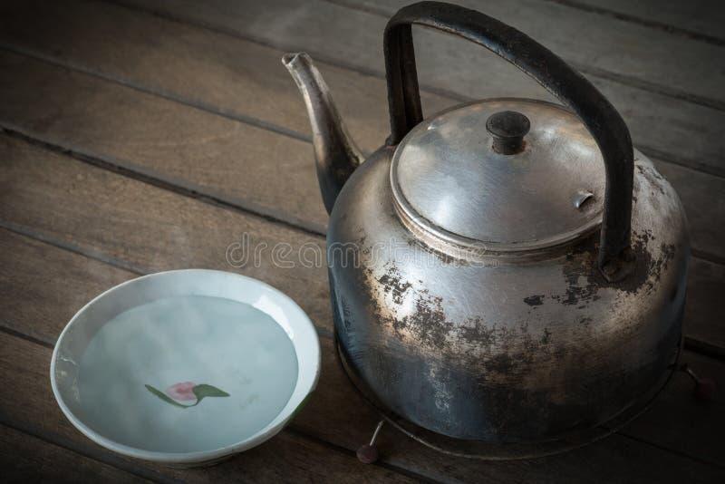 煮沸的水 免版税库存图片
