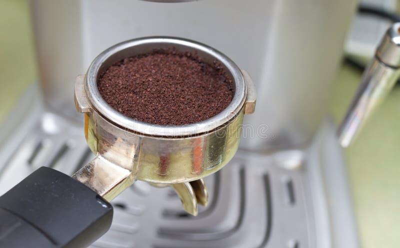 煮浓咖啡器 免版税图库摄影