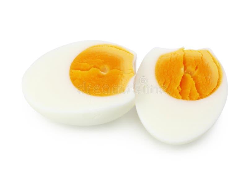 煮熟的鸡蛋 库存照片