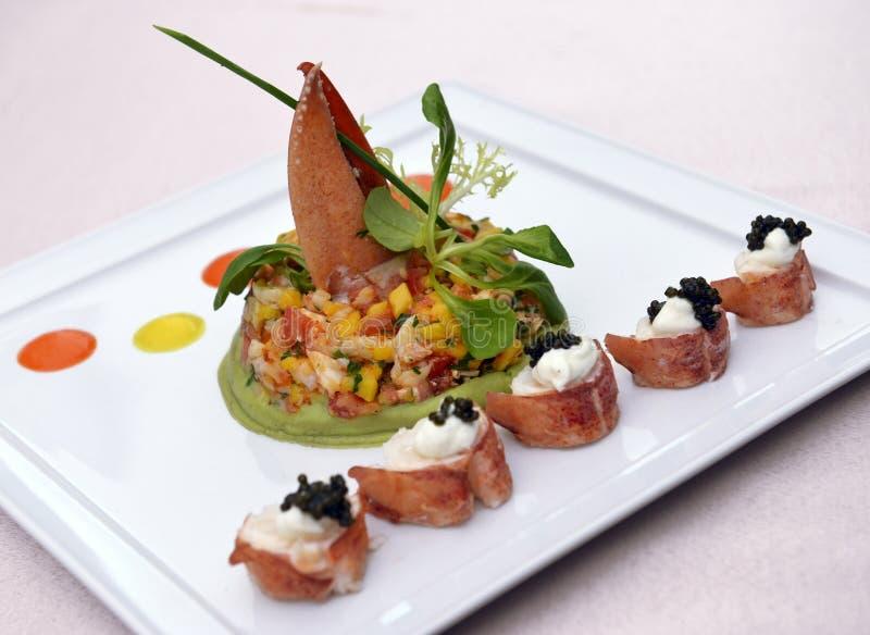 煮熟的龙虾 免版税库存图片