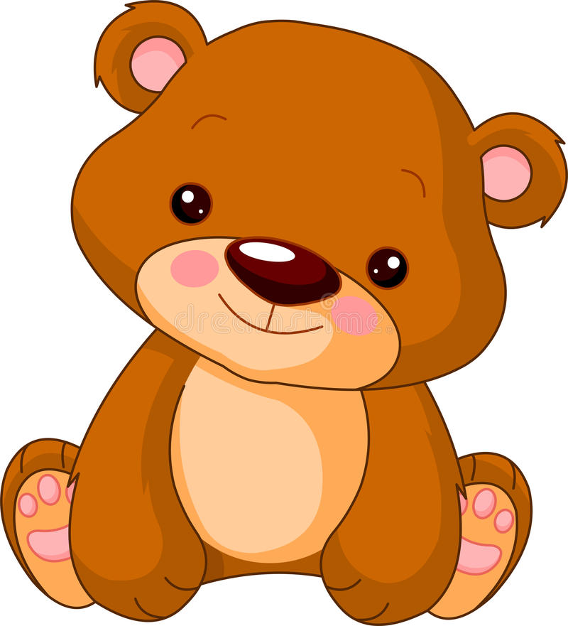 熊乐趣动物园 向量例证