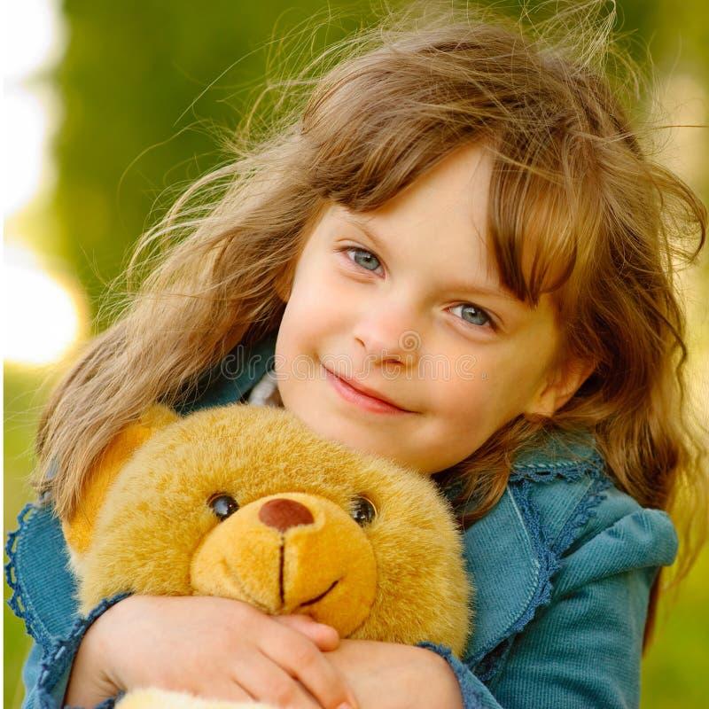 熊儿童崽玩具 免版税库存照片