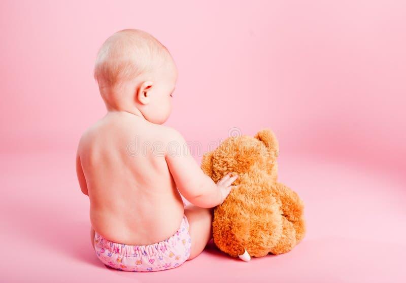 熊小儿童的崽 免版税图库摄影