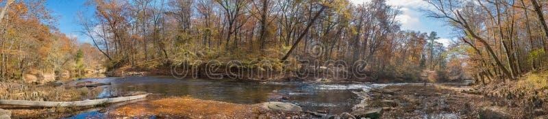 熊小河,阿巴拉契亚边陆的一条山河 库存照片
