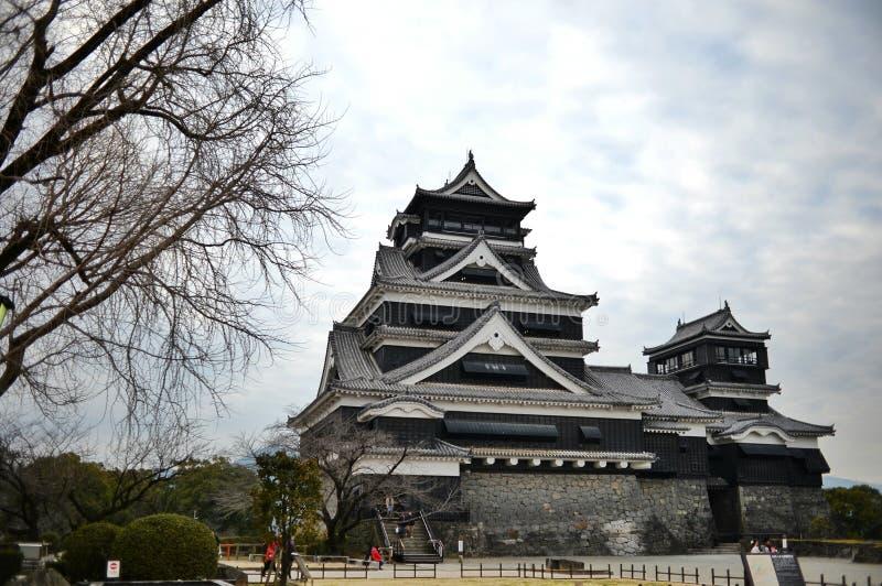 熊本城堡 免版税库存照片