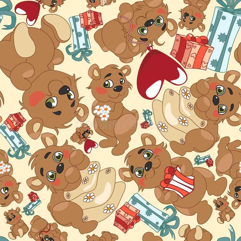 熊样式 免版税图库摄影