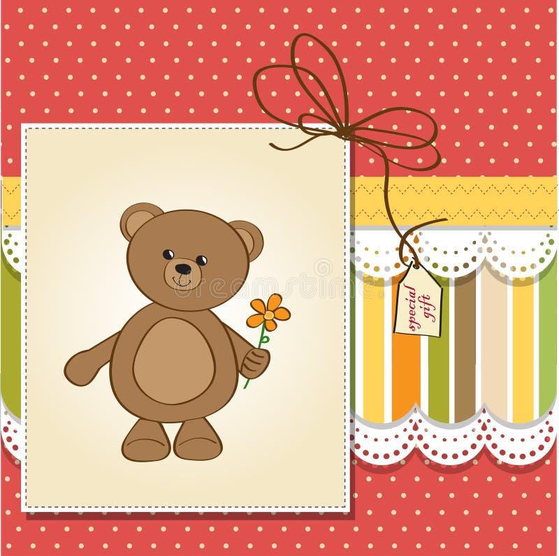 Download 熊生日贺卡愉快的女用连杉衬裤 库存例证. 插画 包括有 看板卡, 产生, 框架, 声明, 动画片, 诞生 - 22350807