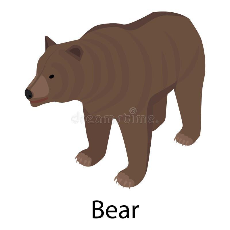熊象,等量样式 皇族释放例证