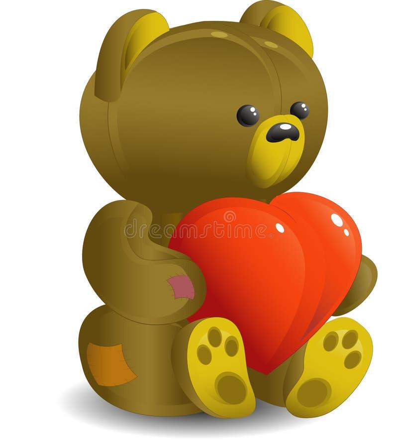 熊重点 皇族释放例证