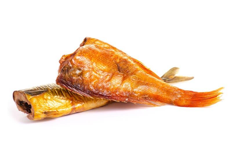 熏制的鱼栖息处鲭鱼 库存照片