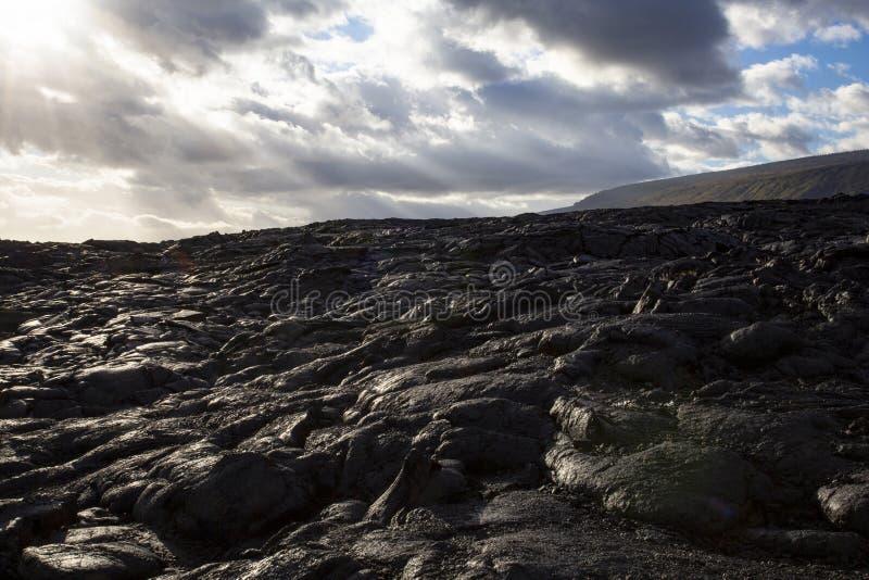 熔岩夏威夷 免版税库存照片
