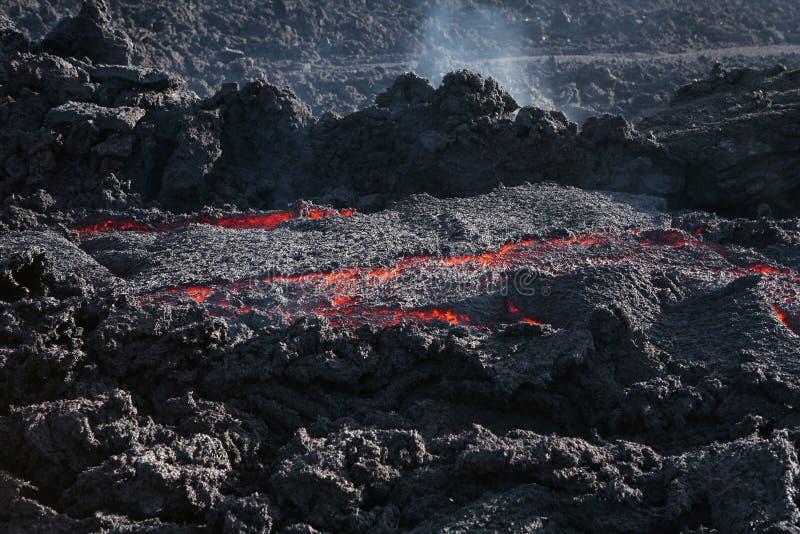 熔岩红色 免版税库存图片