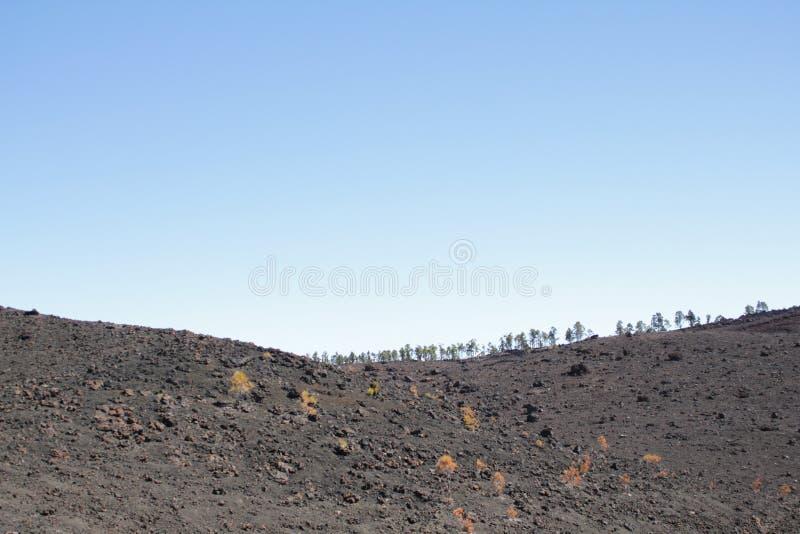 熔岩荒野 库存照片