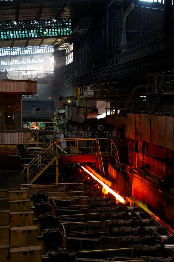 熔炉钢 免版税库存照片