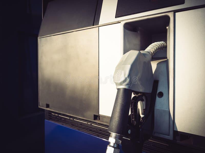 燃料充填气体驻地油工业企业 库存照片