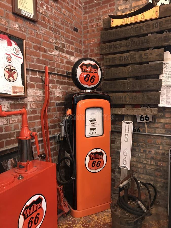 燃料在66 免版税图库摄影
