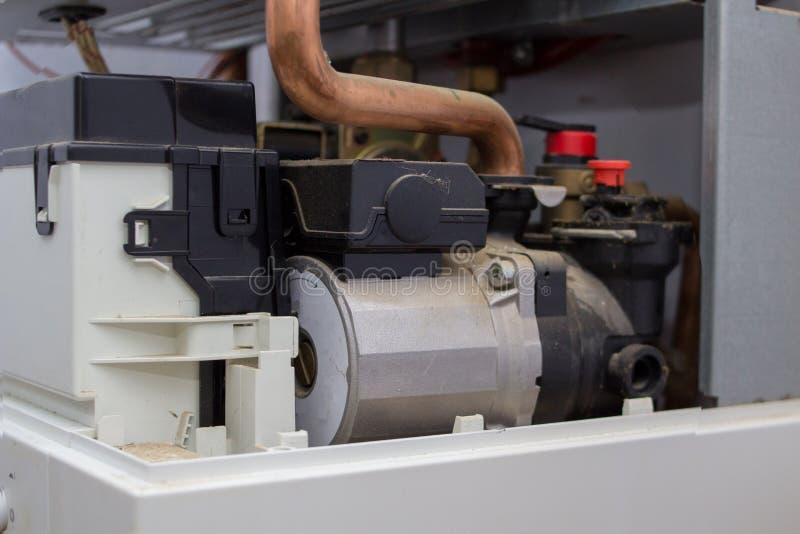 燃气锅炉设备 库存图片