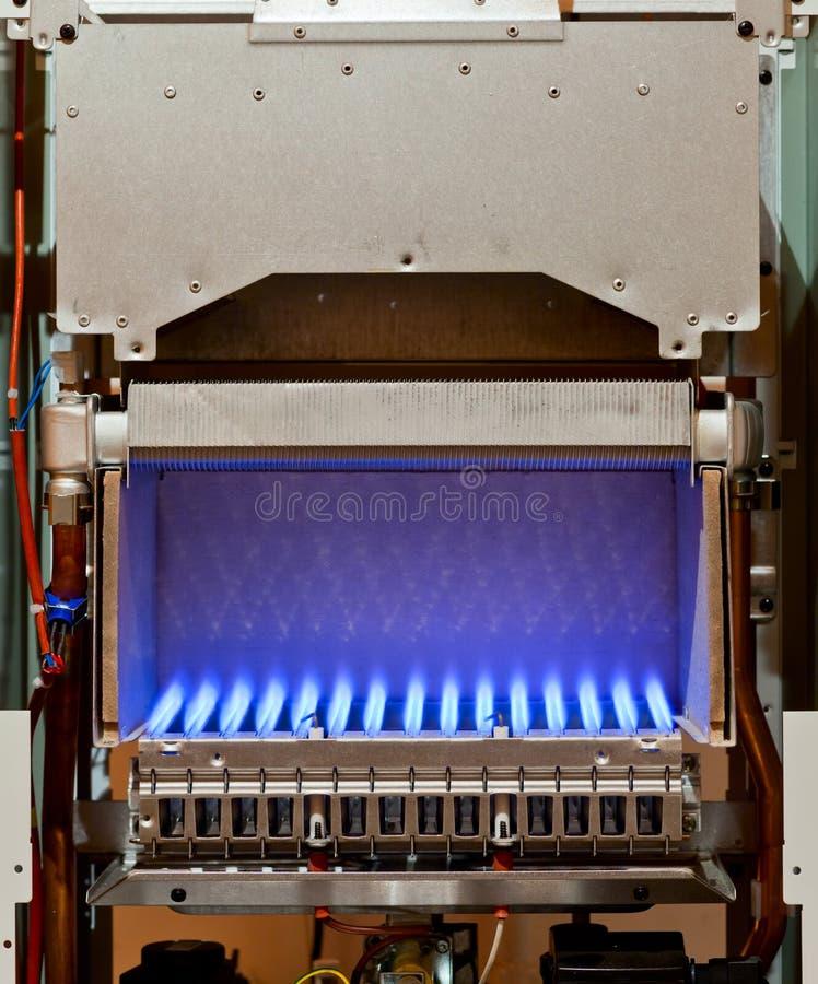 燃气锅炉 库存照片