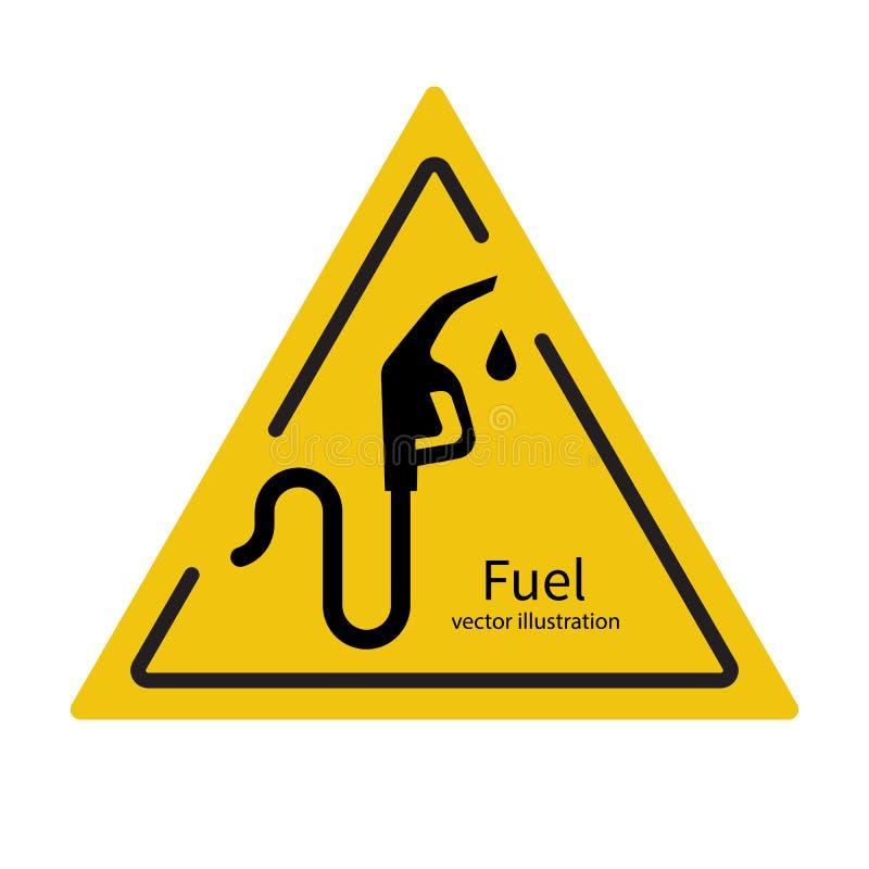 燃油泵象传染媒介 皇族释放例证