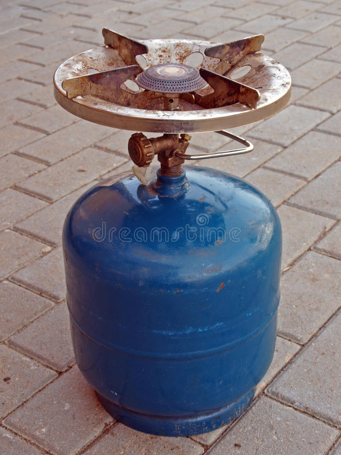 燃烧器气体 库存图片
