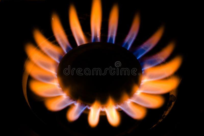 燃烧器气体 免版税图库摄影