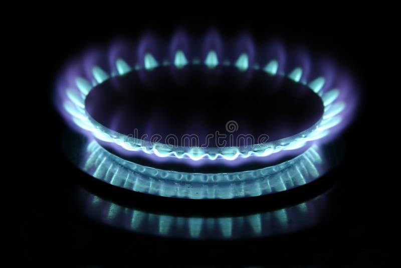 燃烧器气体 免版税库存照片