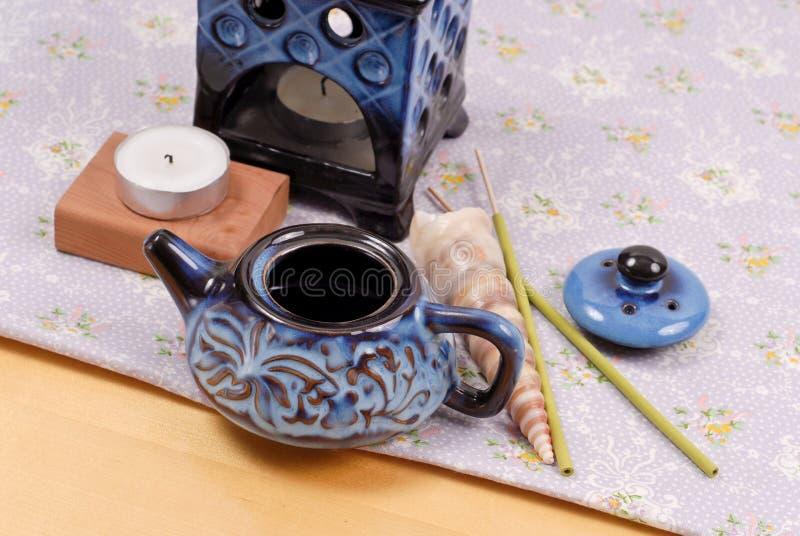 燃烧器油小装饰品 免版税库存照片