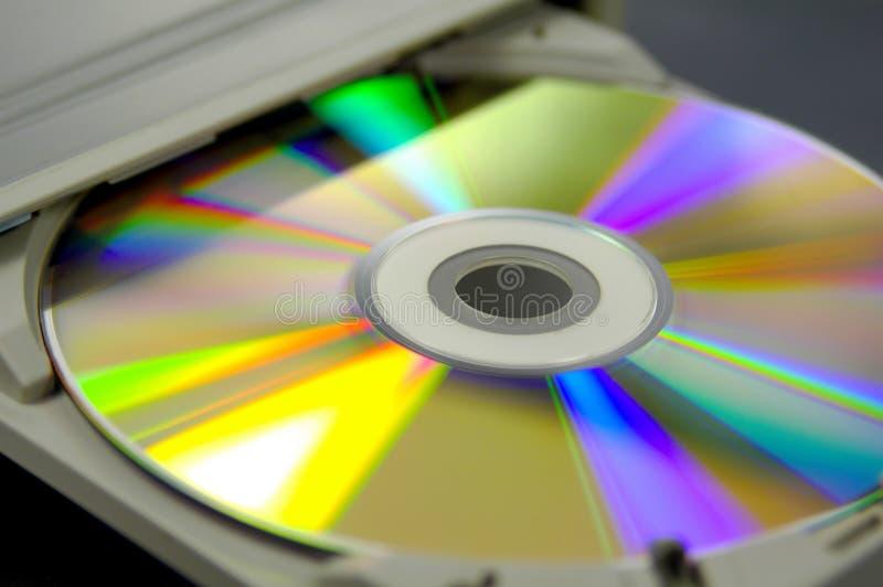 燃烧器cd 免版税库存图片
