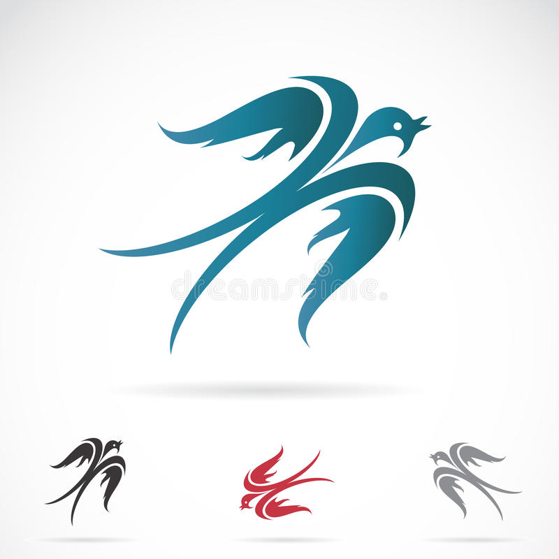 燕子的传染媒介图象 库存例证