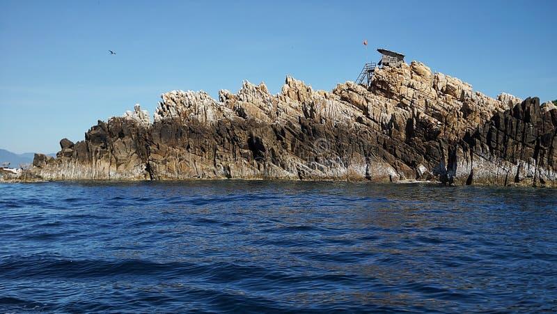 燕麦海岛 库存图片