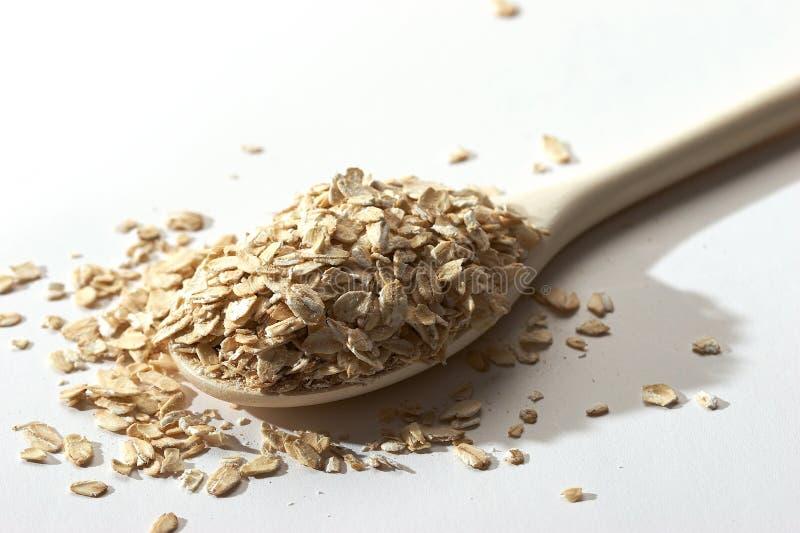 燕麦粥 免版税库存图片