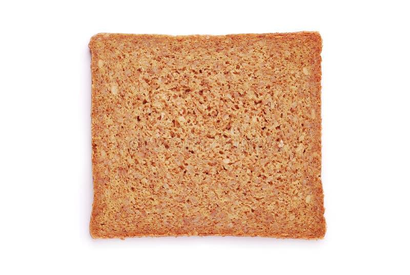 燕麦面包片式 库存照片