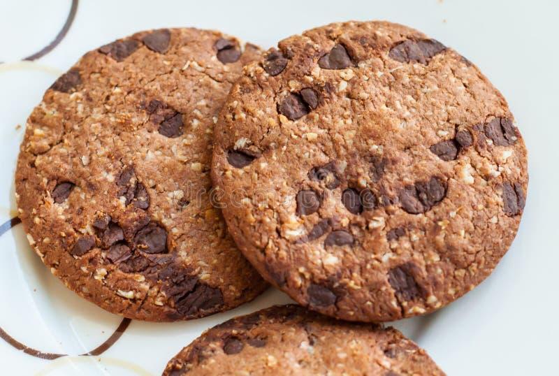 燕麦krunch薄脆饼干 免版税图库摄影
