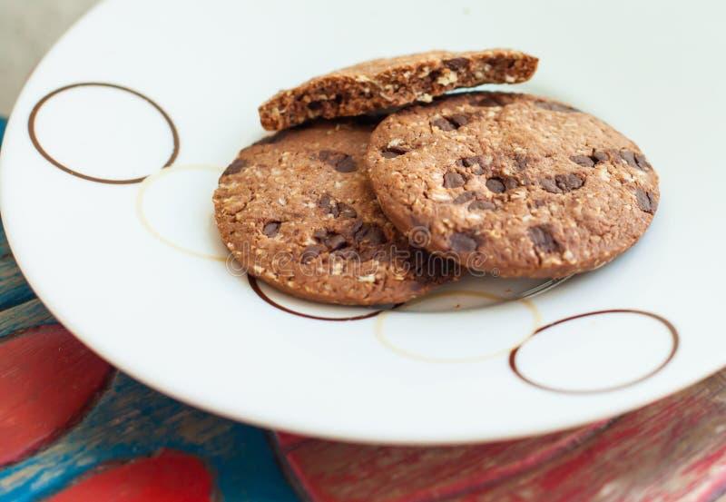 燕麦krunch薄脆饼干 库存照片